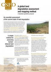 A global land degradation assessment and mapping method